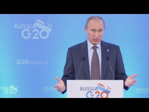 G20 summit: Syria videos were 'provocation by militants' says Putin
