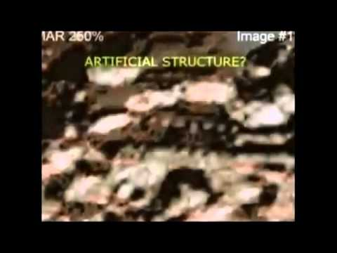 ALIEN LIFE ON MARS - ARTIFICIAL STRUCTURES, FOSSILS, WATER - MUST SEE DISCLOSURE!!!