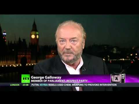 George Galloway: Dogs of War Slaver over Syria, Powder keg for Disaster